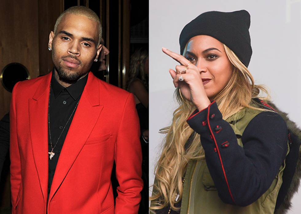 """WWBT (What Would Beyonce Think)? Chris Brown Remixed """"Jealous"""""""