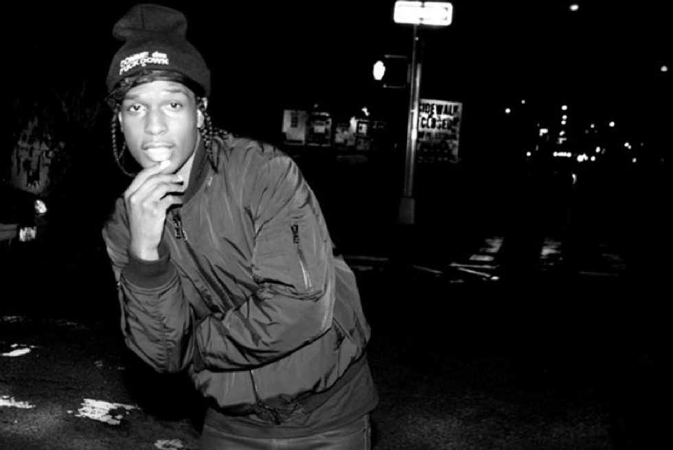 """Listen to a New A$AP Rocky Song, """"M'$"""""""