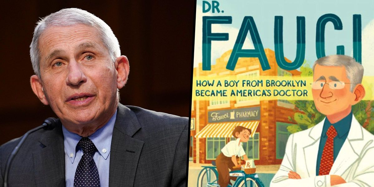 A New Children's Book Will Star Dr. Anthony Fauci as the Main Character