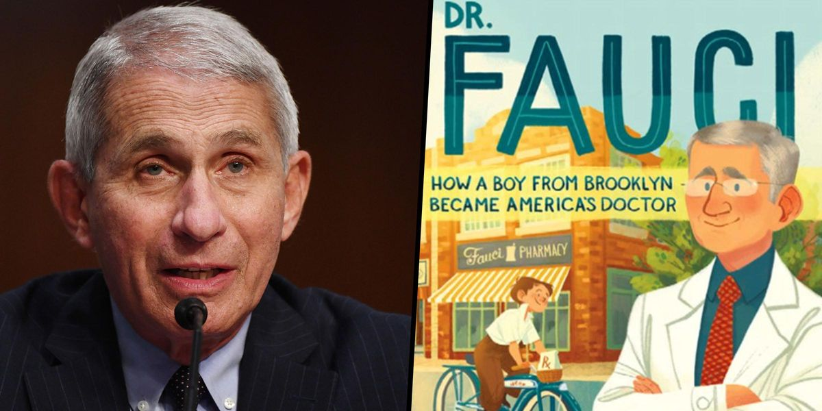 An Upcoming Children's Book Will Star Dr. Anthony Fauci as the Main Character