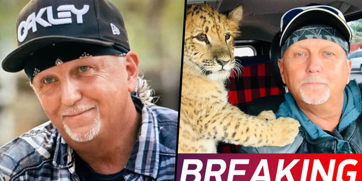 'Tiger King' Star Jeff Lowe Airlifted To Hospital After Suffering Stroke