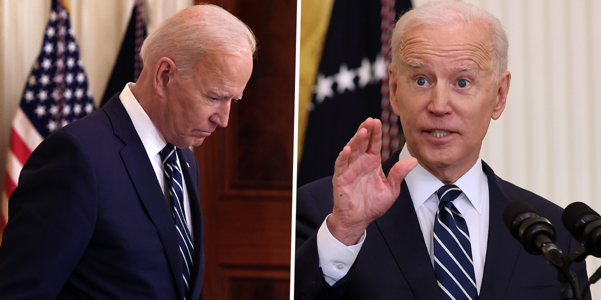 'Dementia Joe' Trends After Biden's First Presidential Press Conference