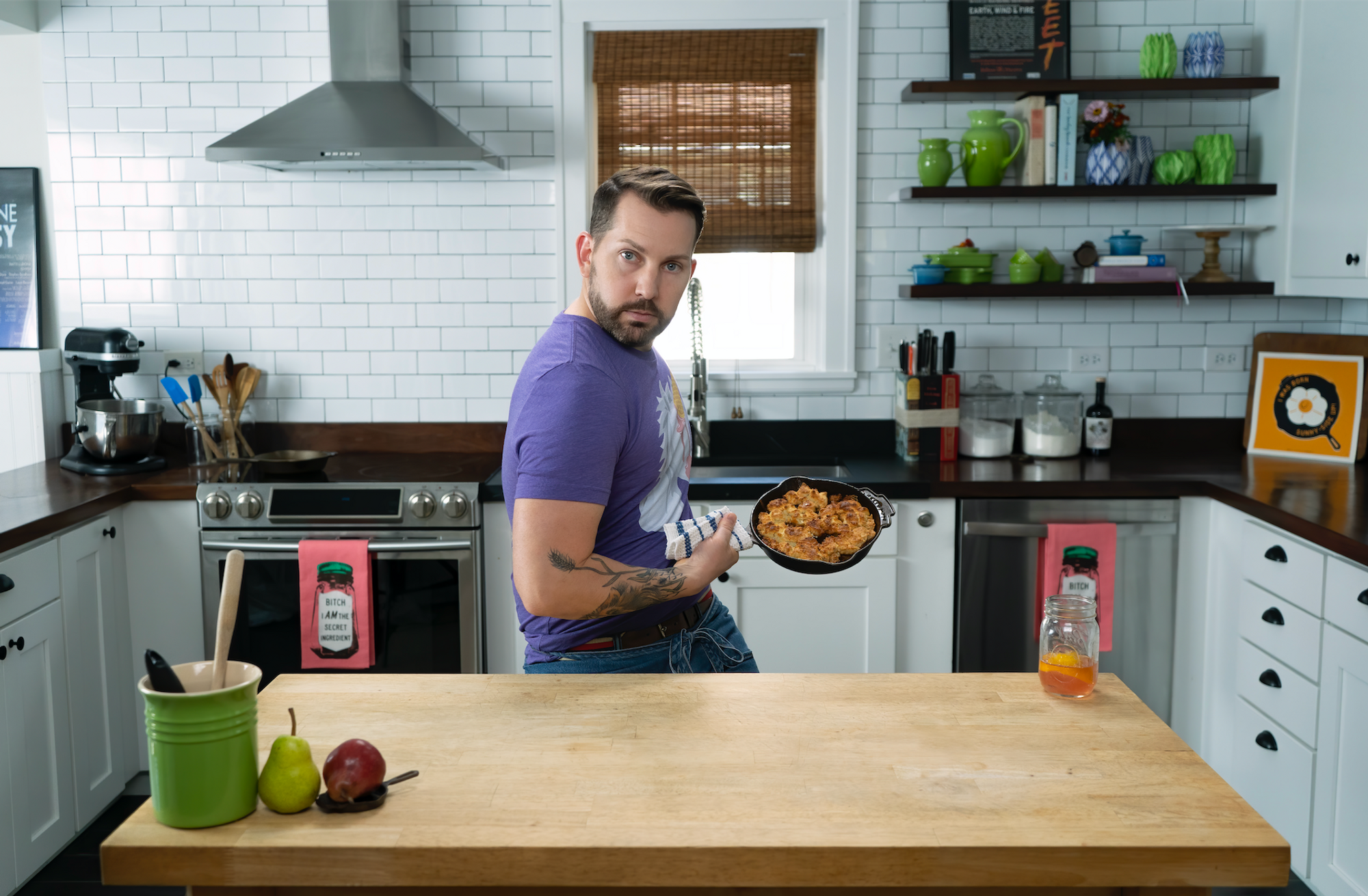 Try This Shortcake Recipe From a Broadway Dancer–Turned–Pastry Chef