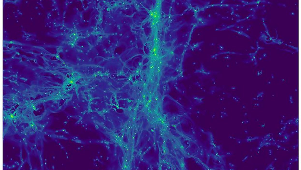 "Hidden dwarf galaxies revealed in first images of the ""cosmic web"""