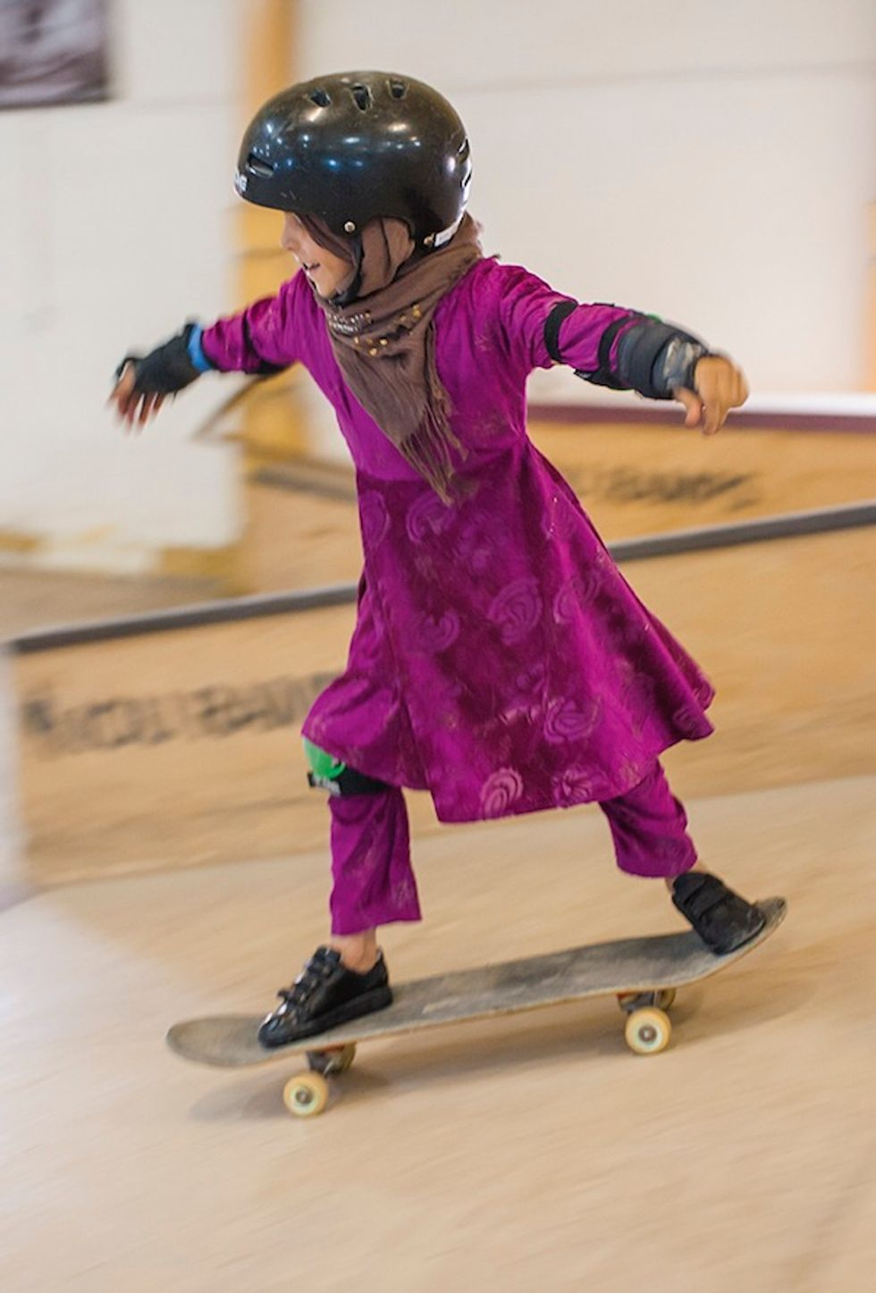 """Preview Photos From the Upcoming """"Skate Girls of Kabul"""" Show"""