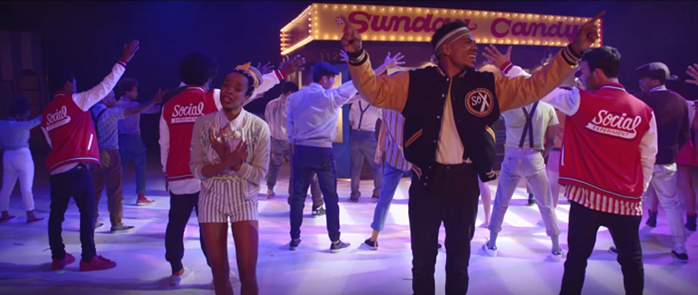 "Time Travel to the '50s In Chance the Rapper's New Video, ""Sunday Candy"""