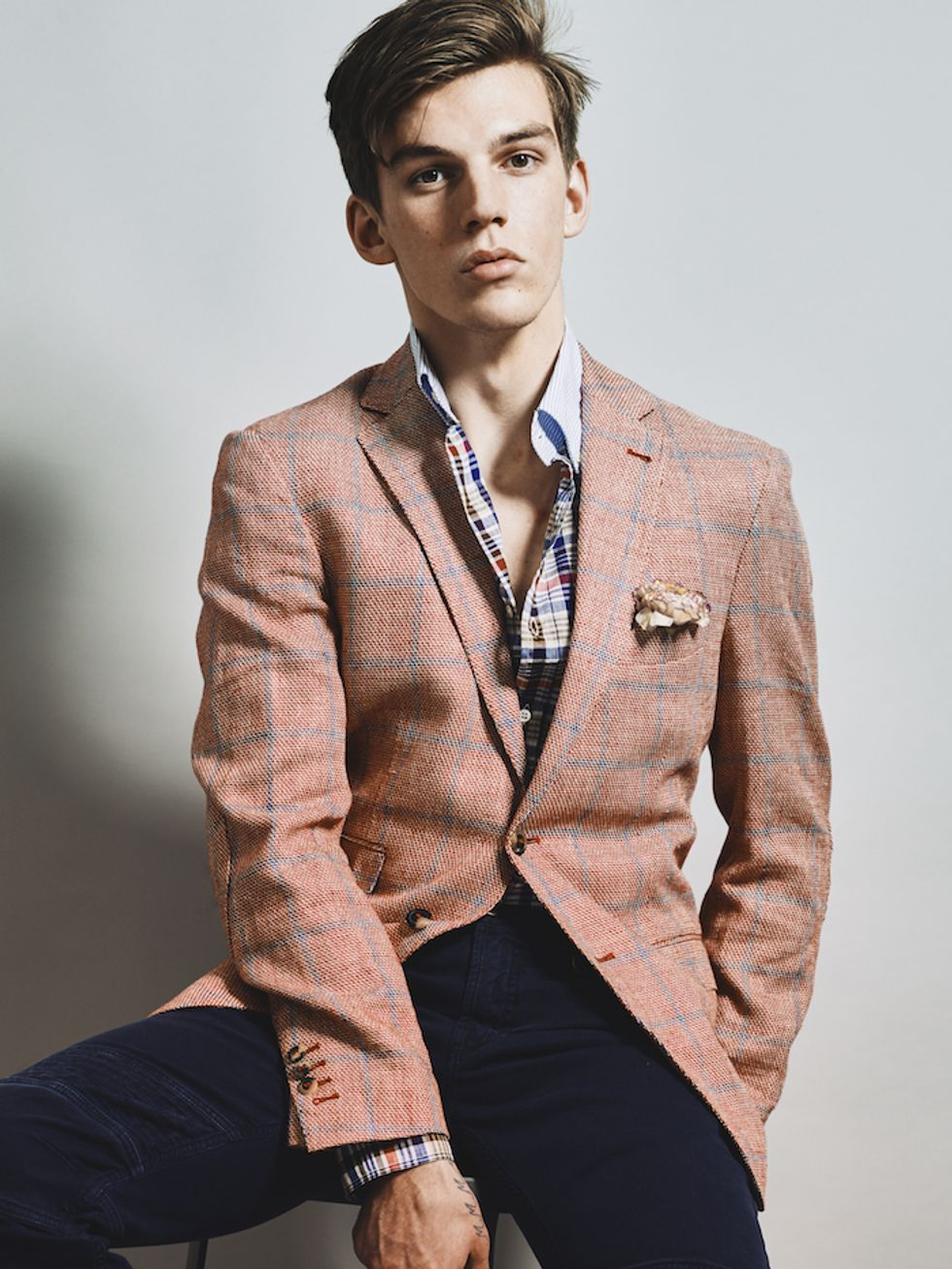 The New Royals: Meet Teenage Model Miles Hurley