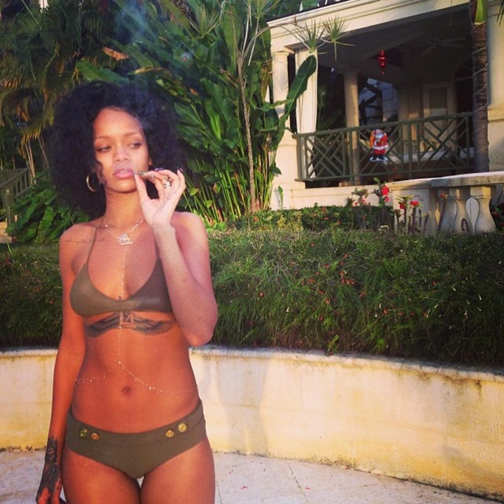 Rihanna Shares New Music for 4/20