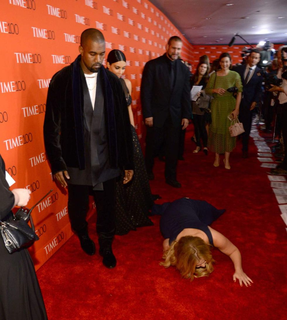 Watch Kanye Perform at the Time 100 Party, Stare Blankly at Amy Schumer