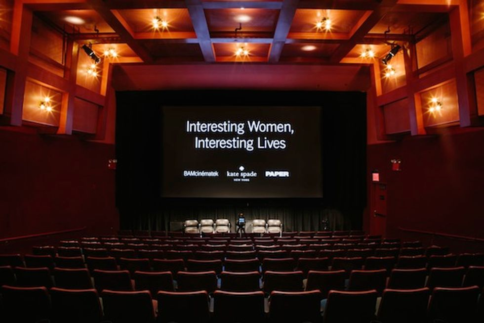 """See Photos from Our """"Iris"""" Screening Last Night with Kate Spade New York and BAM"""