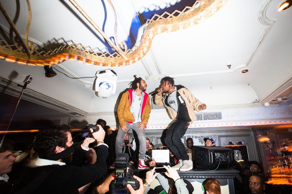 Surprise Performances by Pusha T and Travi$ Scott and More Fun at the Bathing Ape 10th Anniversary Bash
