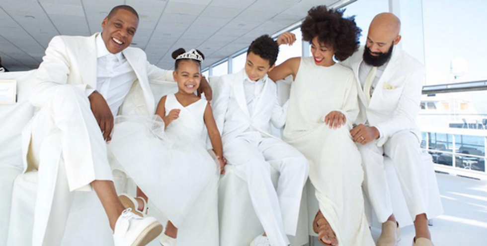 When Blue Ivy Tells You to Marry Someone, You Do It