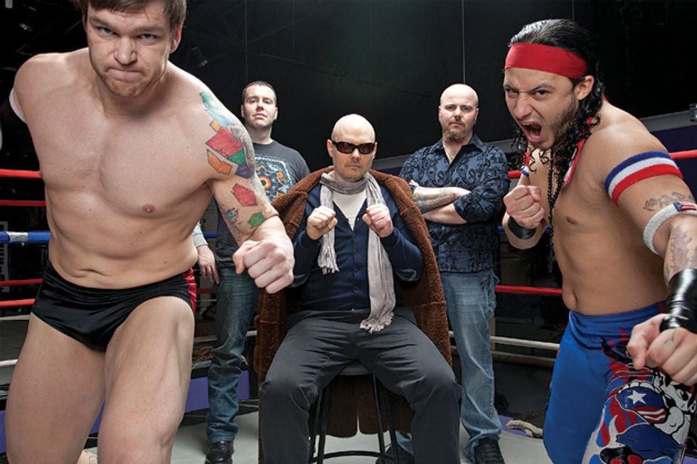 Billy Corgan Is Now Working for a Pro Wrestling Network