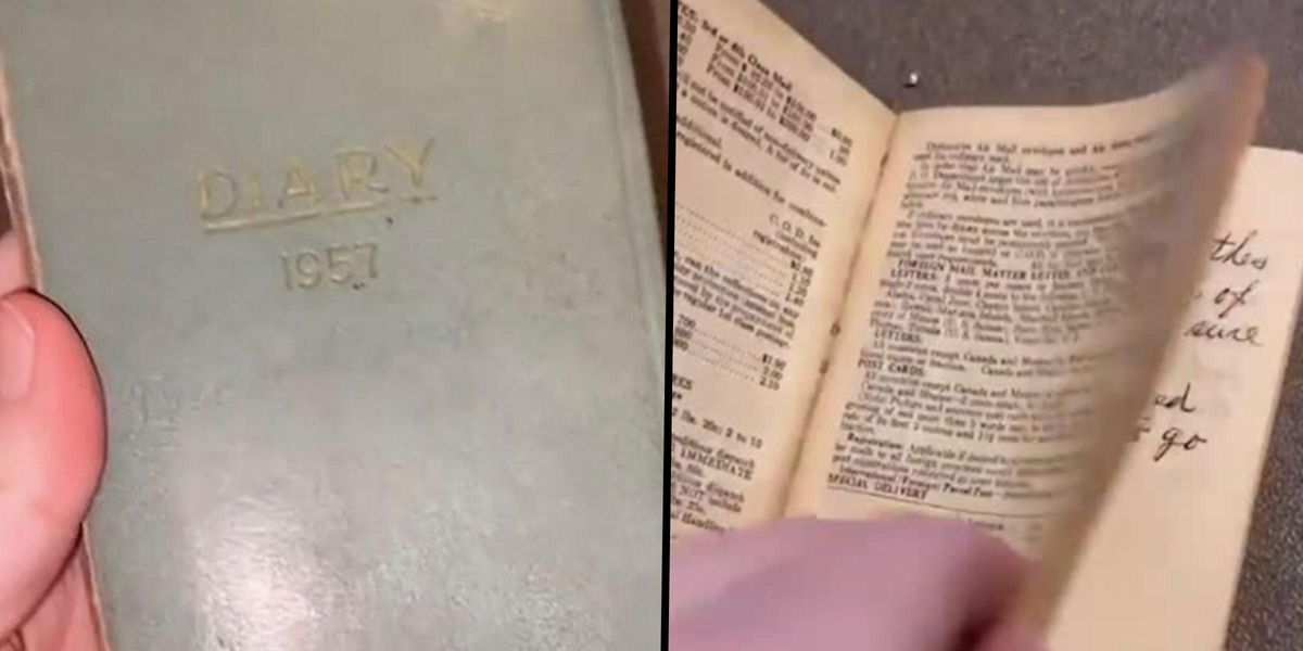 Housewife's Diary From 1957 Found in Thrift Store Shows 'That Times Don't Change'