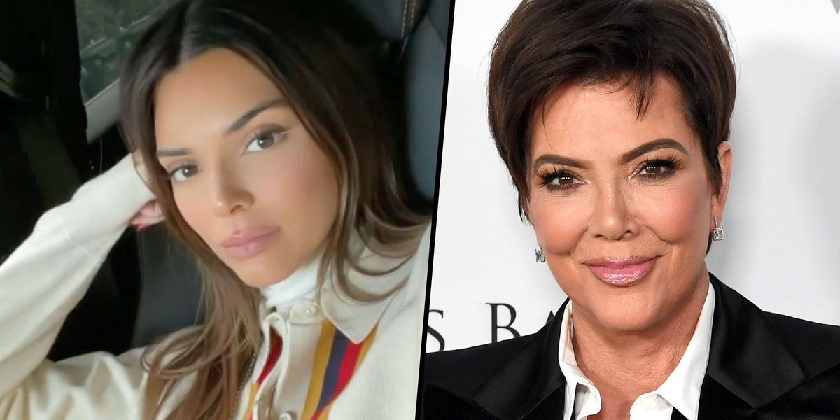 Kendall Jenner Hits Back as Mom Kris Jenner Drops Hint She's Pregnant on Twitter