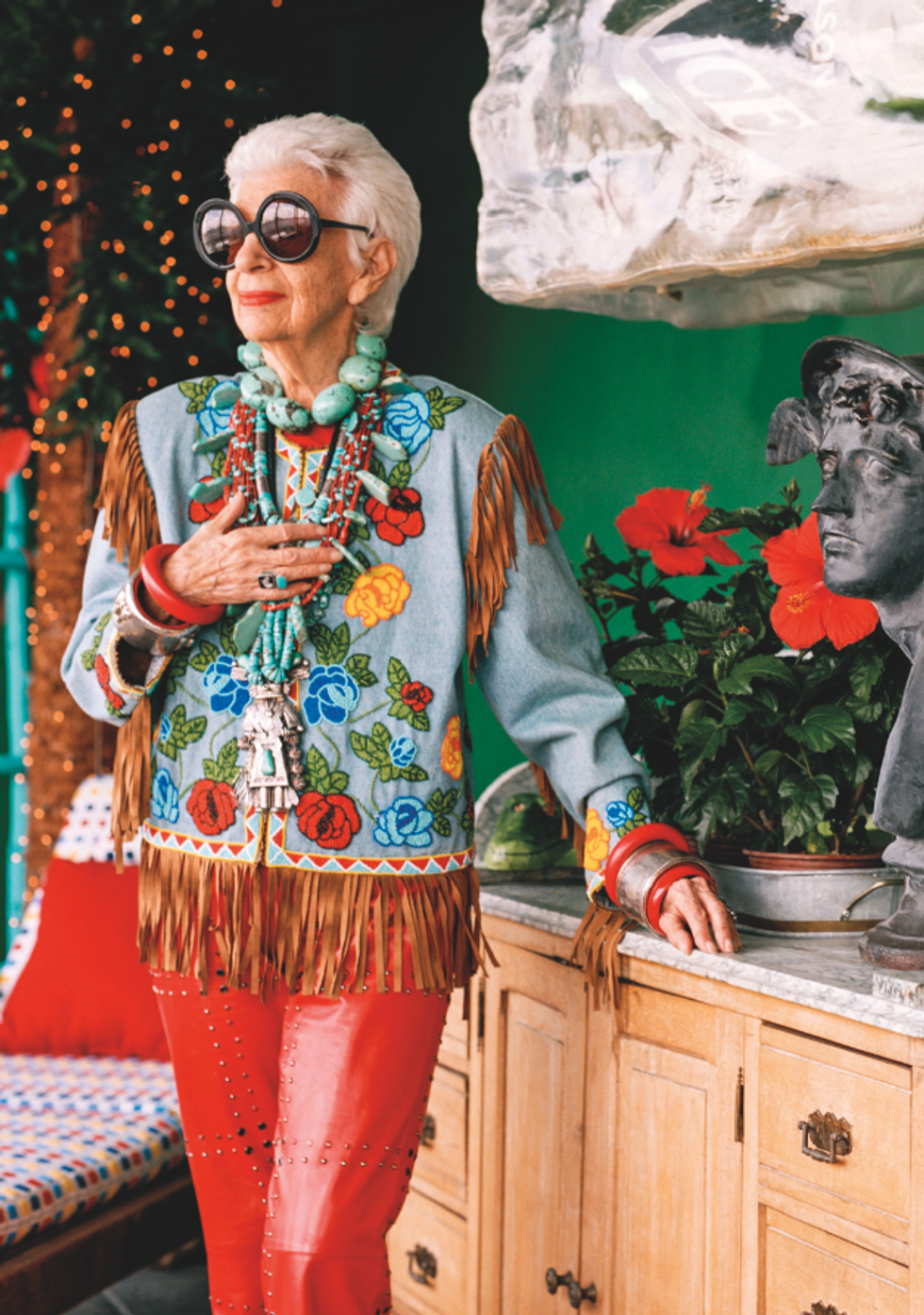 """""""A 93-year-old Broad with All This Attention -- How Bad Can It Be?"""" Iris Apfel On Her New Film"""