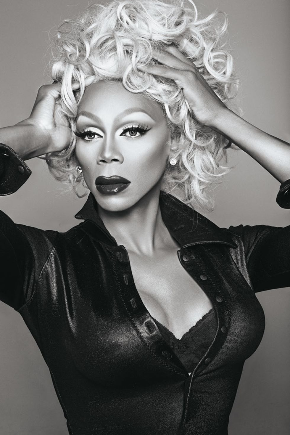 Put Down Your Phone and Start Following RuPaul's Wellness Tips