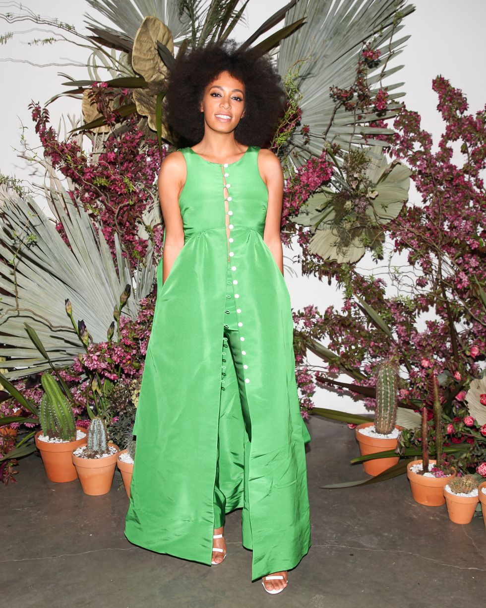 Solange Looked Like a Spring Vision + More Photos from Pioneer Works' Village Fete
