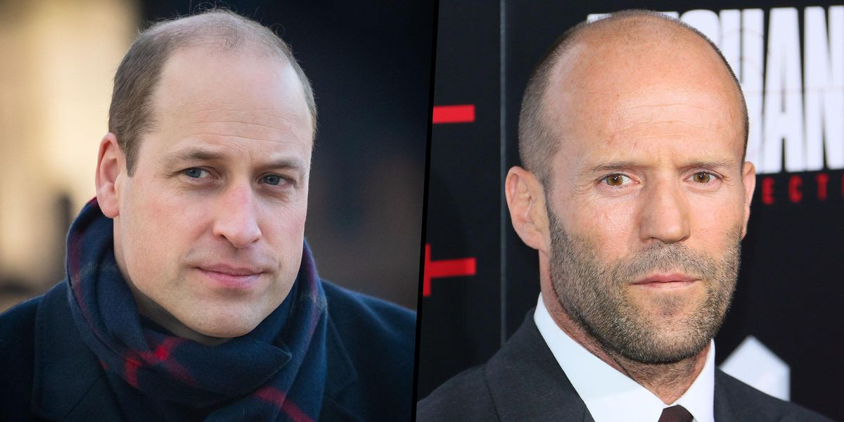 Jason Statham Fans Demand Justice After Prince William Is Named 'Sexiest Bald Man'