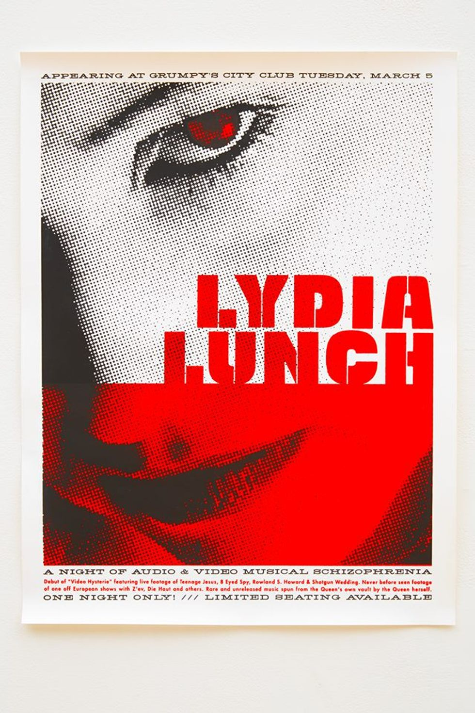 Lydia Lunch On Hillary Clinton, Madonna and Pleasure as the Ultimate Rebellion