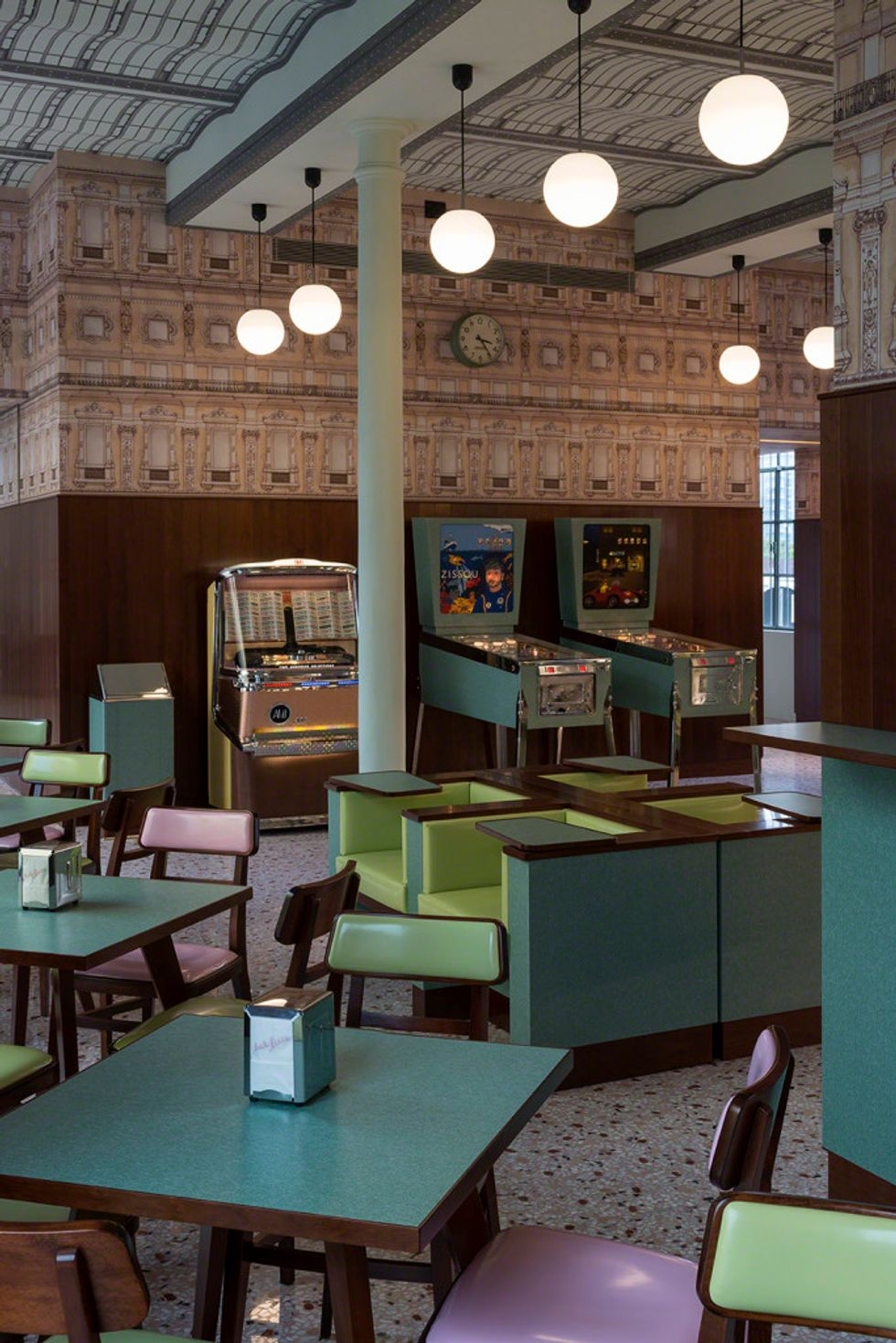 Inside Wes Anderson's New Cafe in Milan