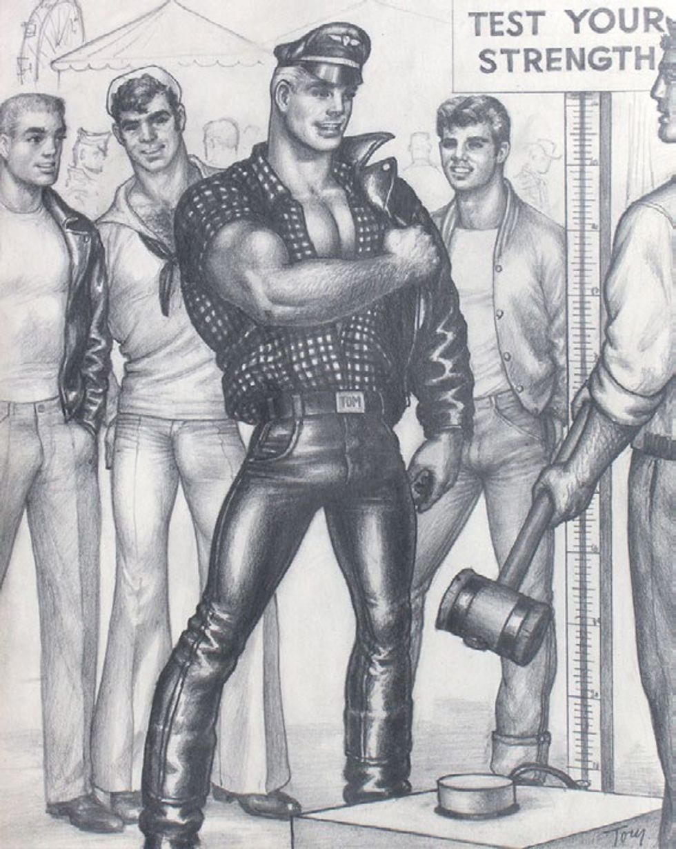 Inside Artists Space's Massive New Tom of Finland Show