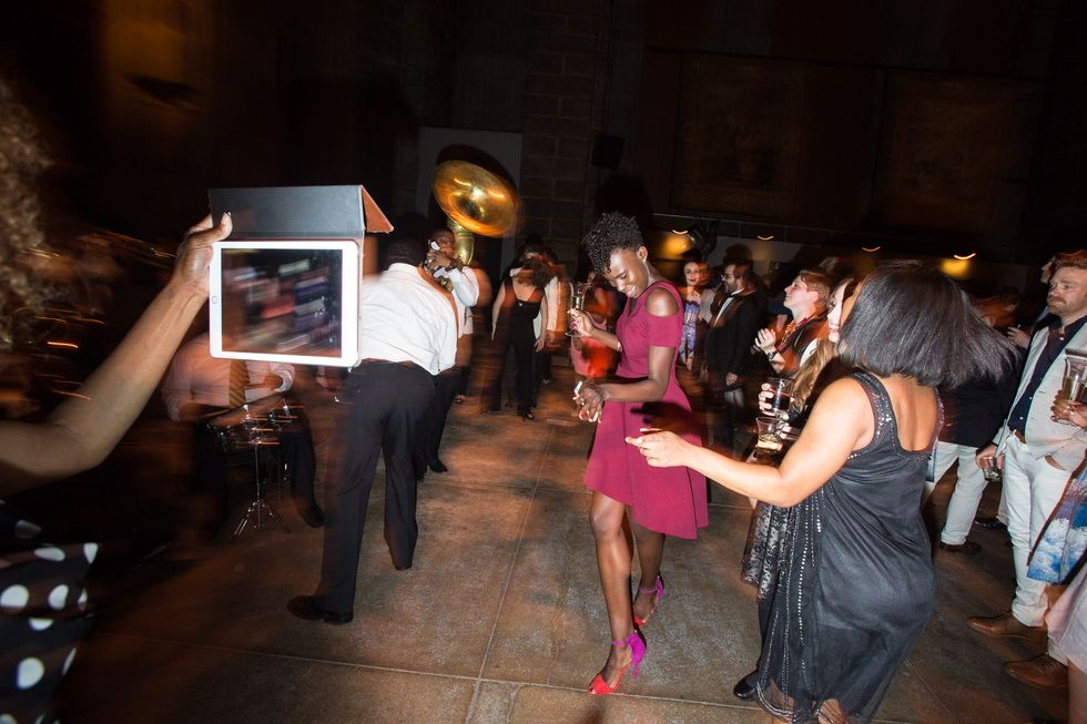 Organ Music and a Marching Band: Scenes From Creative Time's Annual Spring Gala