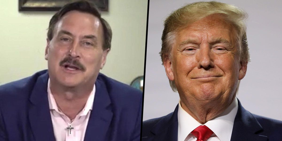 MyPillow Guy Says Donald Trump Will Be Back in Office by August After Supreme Court Sees 'all the Evidence'