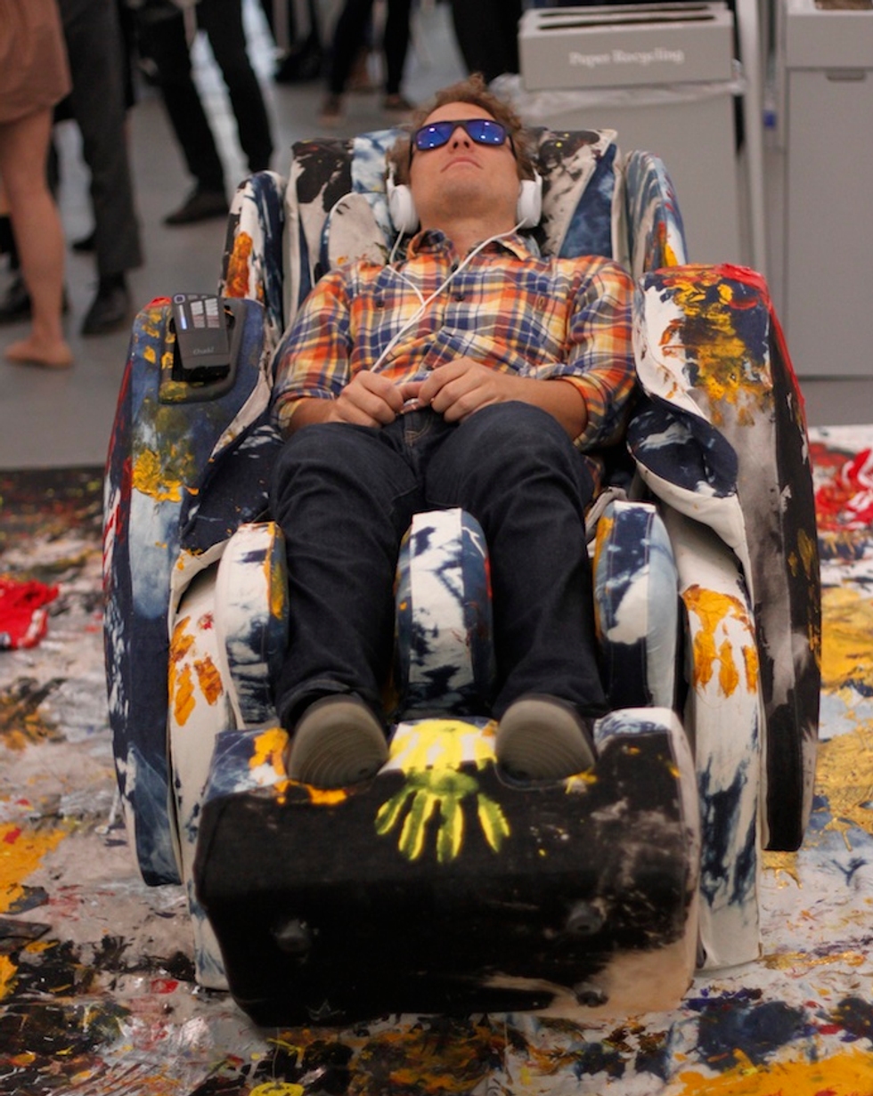 Welcome to the Art World Lord of the Flies: Everything We Saw and Heard at NYC's Art Fair Openings