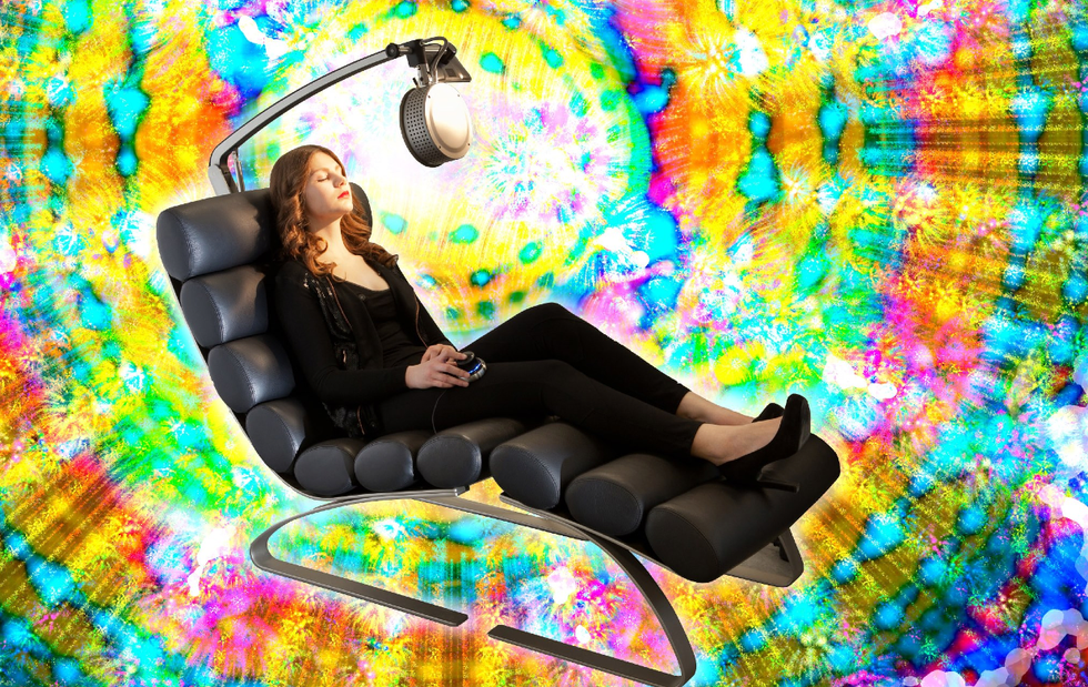 I Tested the $50 Light Treatment That Makes You Trip Balls