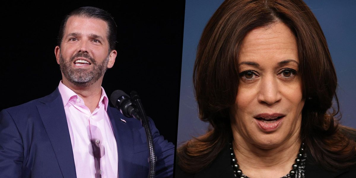 Donald Trump Jr Calls Kamala Harris 'Tone Deaf' Over Inviting Bill Clinton To Women Empowerment Event