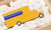 Penske truck toy in a box