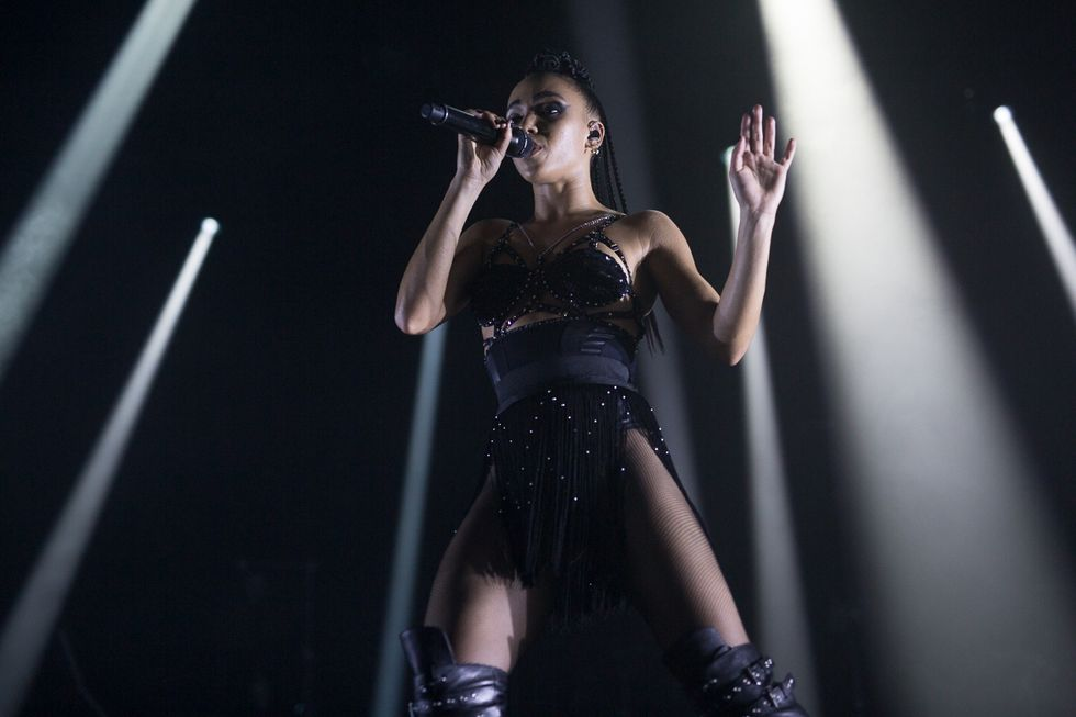 "Photos from FKA Twigs' Steamy ""Congregata"" RBMA Shows"