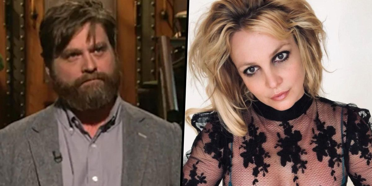 Zach Galifianakis Was Fired From 'SNL' Over Joke About Britney Spears