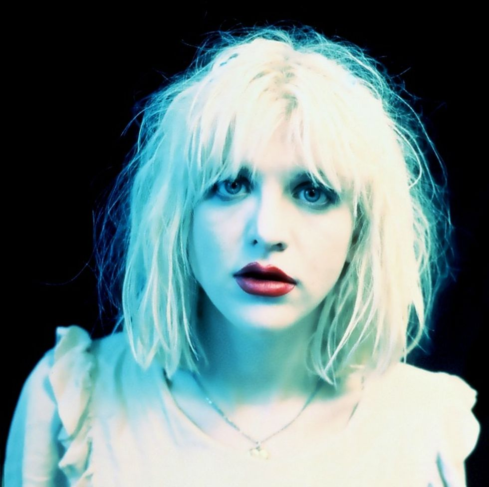 """Courtney Love Drops New Song, """"Miss Narcissist"""""""