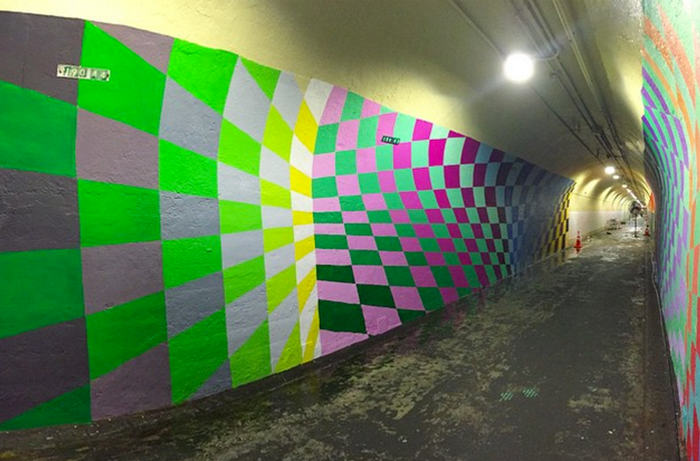 Six Artists Got Commissioned to Paint Murals In a NYC Pedestrian Tunnel