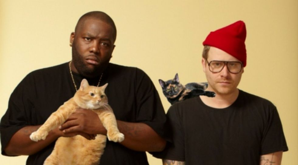 """Listen to """"Angelmeowster,"""" the latest from Run the Jewels' Meow the Jewels"""