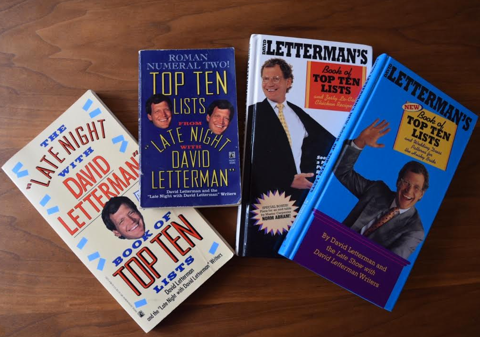 A Farewell to David Letterman's Top Ten List