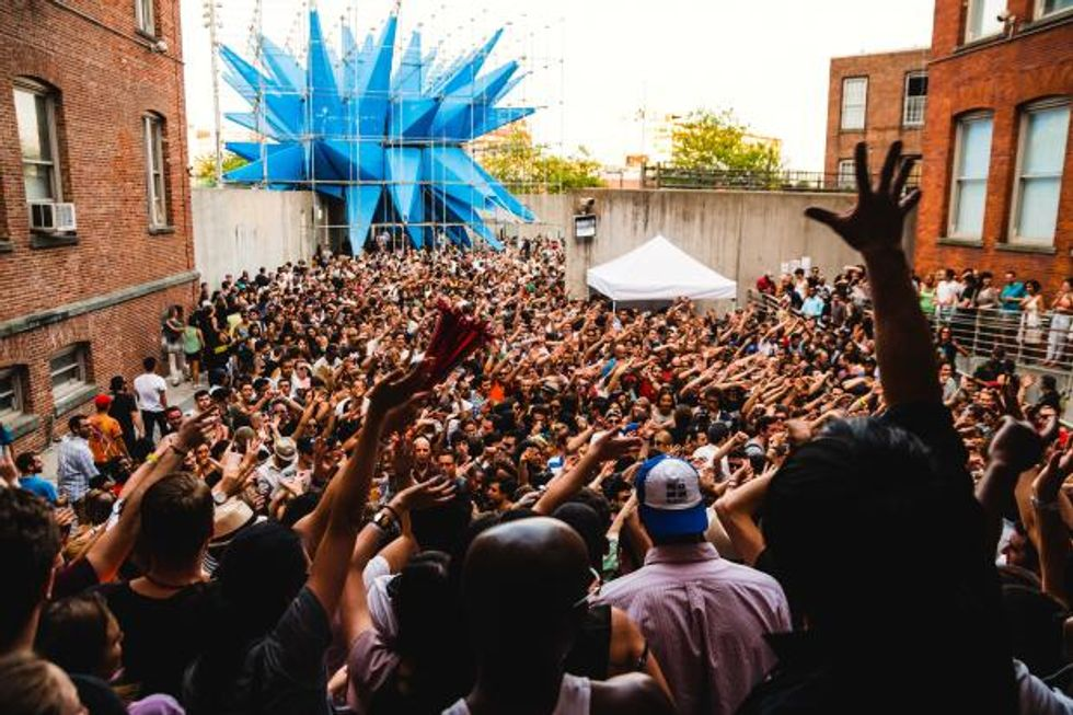 MoMA PS1's Warm Up Line-Up Is Insane