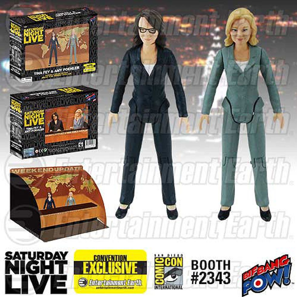 Rejoice! There are Amy Poehler and Tina Fey Action Figures