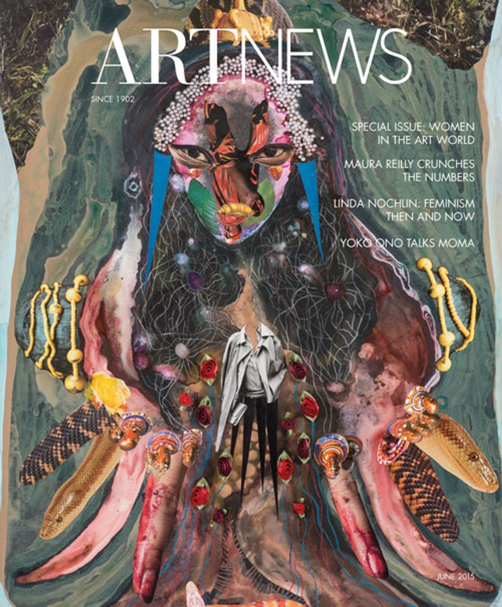 Peep the All-Women Issue of ARTnews: Now With More Depressing Statistics