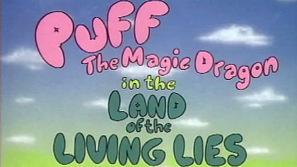 Finally, There is a Puff, the Magic Dragon Restaurant for Stoned People