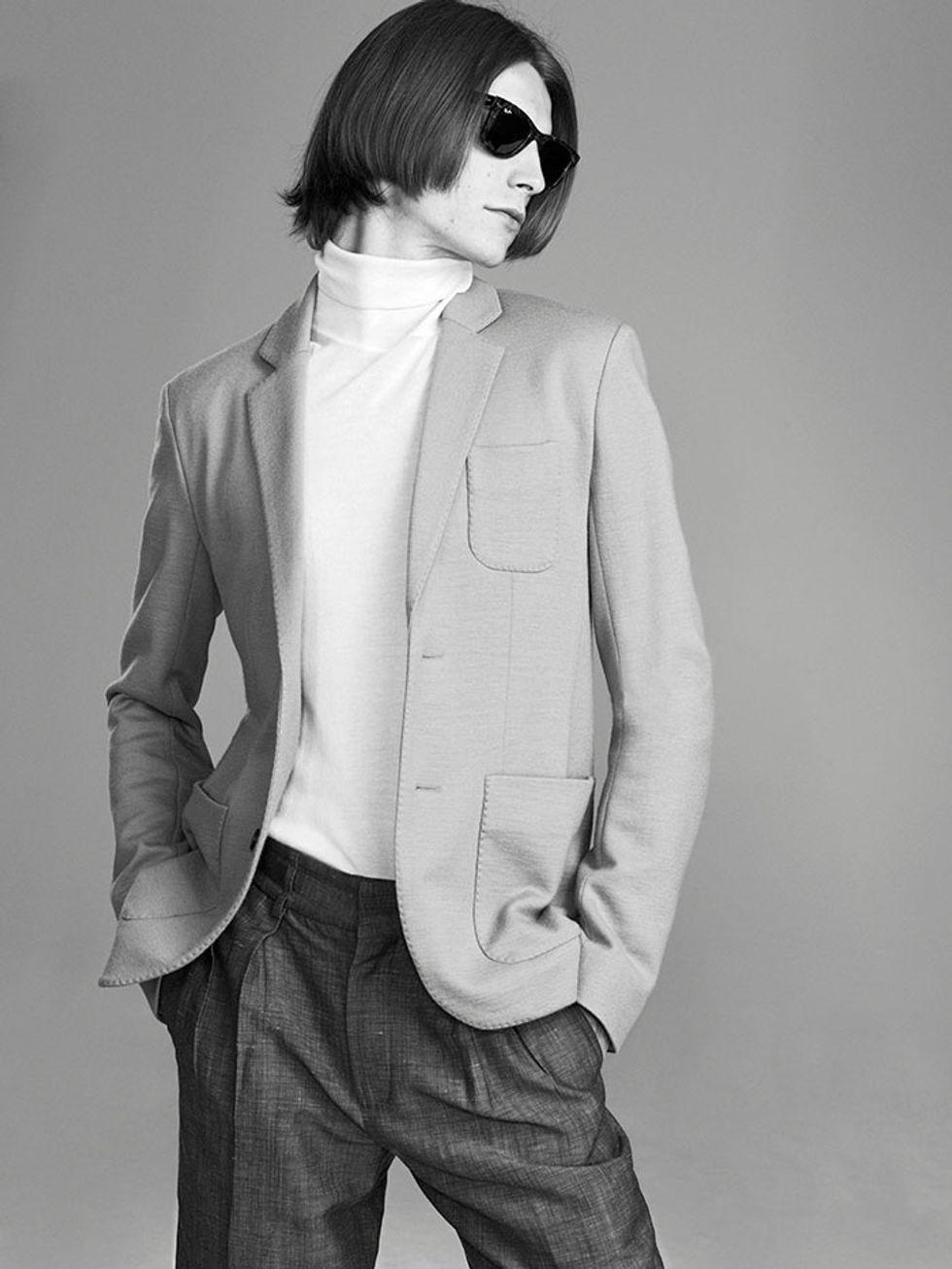 Model Crush Monday: Timothee Bertoni