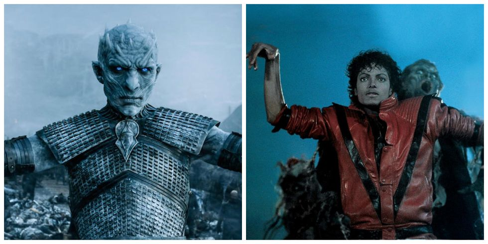 """Watch Game of Thrones' White Walkers do the """"Thriller"""" Dance"""