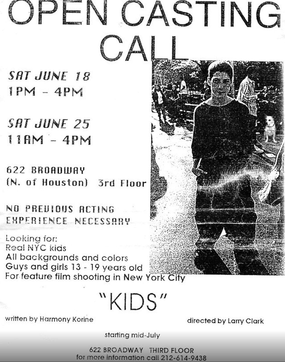 See the Original Kids Casting Call