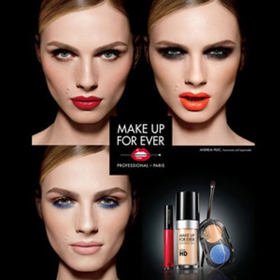 Historic: Andreja Pejic is the First Transgender Face for a Major Make-Up Campaign