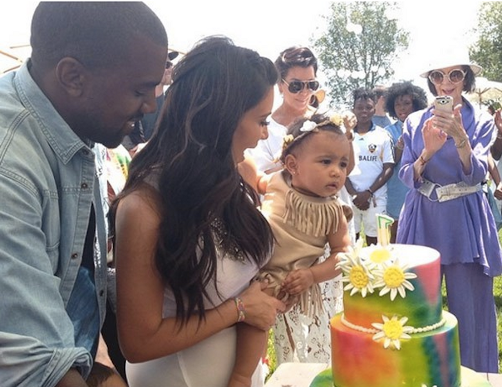 North West's Birthday Was Better Than Yours