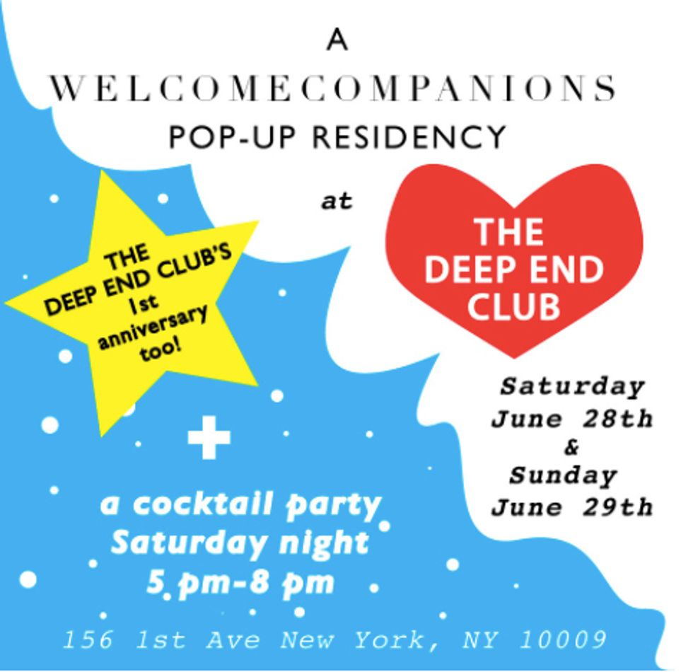 Tenneessee Thomas' Boutique Will Host a WELCOMECOMPANIONS Pop-Up