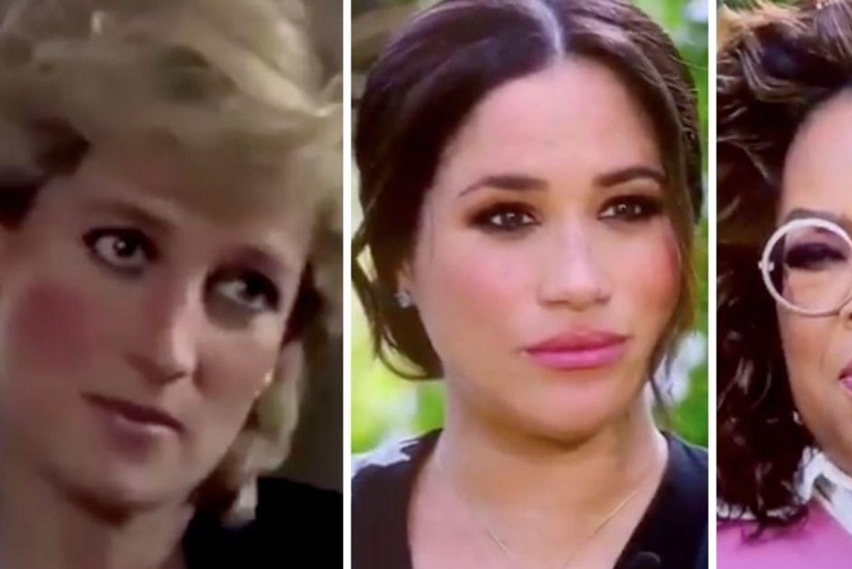 Princess Diana said strong women are seen as a threat. Meghan and Oprah prove they are.