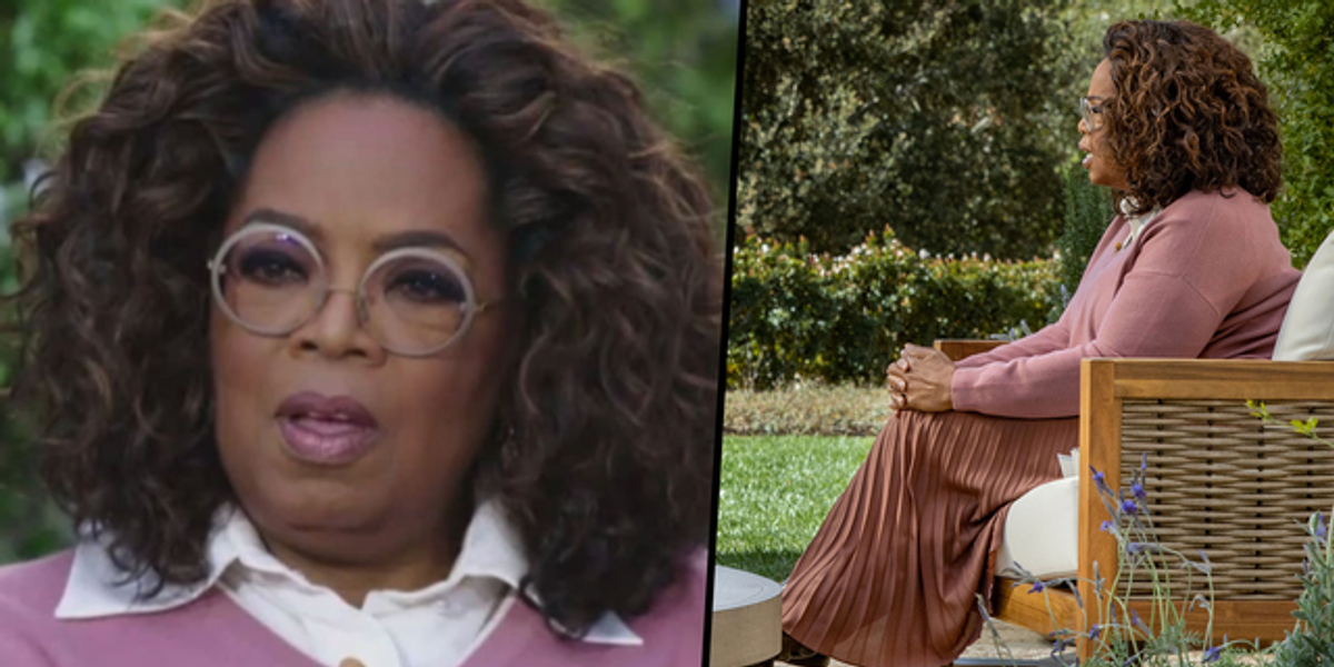 Conspiracy Theorists Think Oprah Was Wearing an Ankle Monitor During Interview